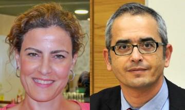 Sagrario Segado y Antonio López, miembros del grupo de investigación Koinonia / UNED.