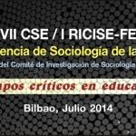 Sesiones Virtuales XVII Conferencia de Sociología de la Educación, 9 Julio