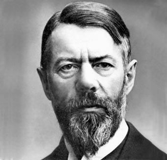 Max Weber | Fuente: www.biografiasyvidas.com
