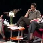 """Debate """"Saber y sociedad"""". Emmánuel Lizcano, Luis Castro e Isabel Escudero"""