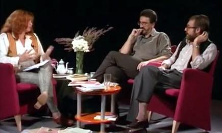 Isabel Escudero, Luis Castro y Emmánuel Lizcano | Fuente: CanalUNED