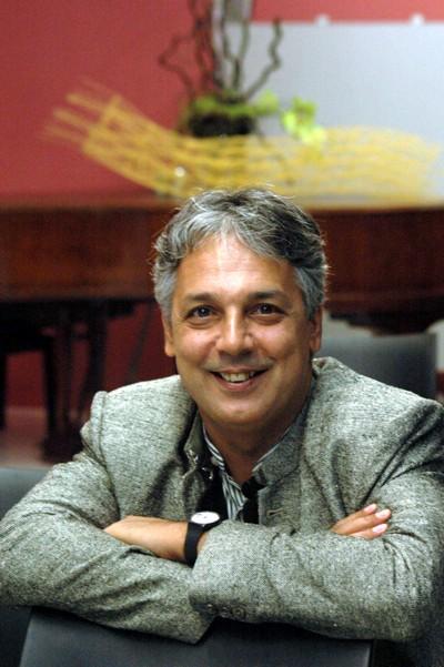Agustín Pániker. Lleida, 2006 (Foto: Lleonard Delshams).